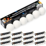 78 Tischtennisbälle ohne Aufdruck