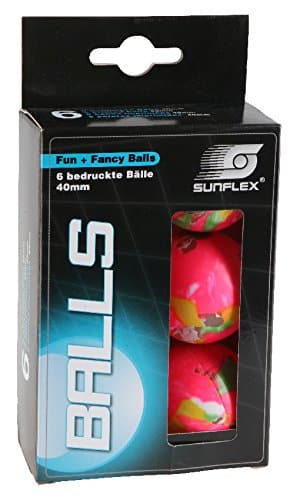 Sunflex 20603 Tischtennisbälle -