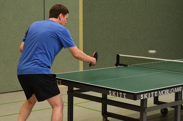 indoor tischtennisplatte